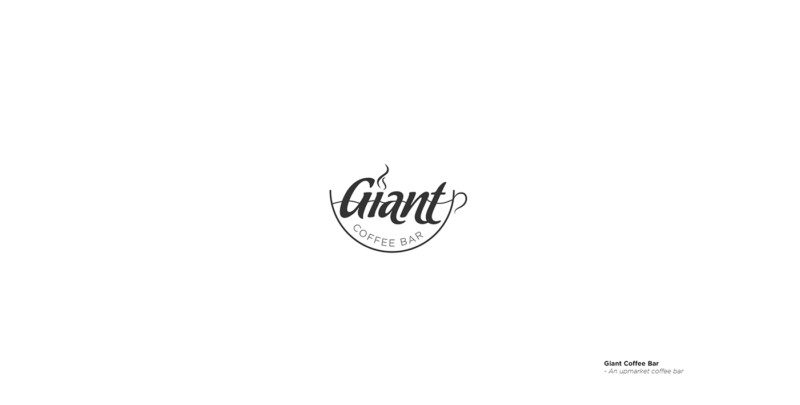 カフェバーのロゴデザイン