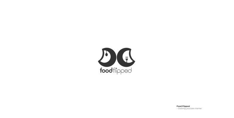 料理動画サイトのロゴデザイン