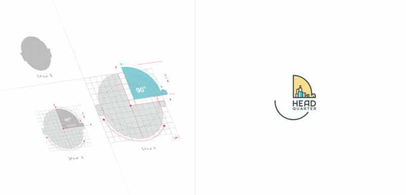 教育施設のロゴデザイン