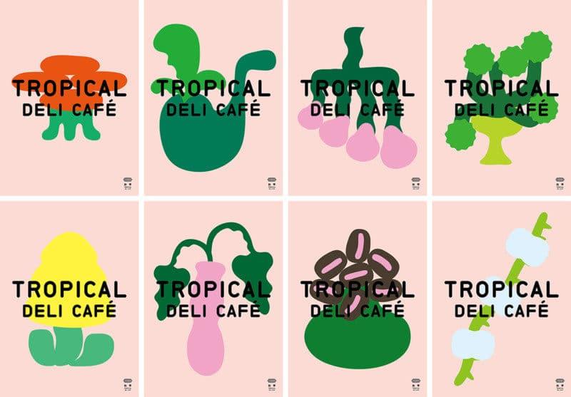カフェのシンボルデザイン2