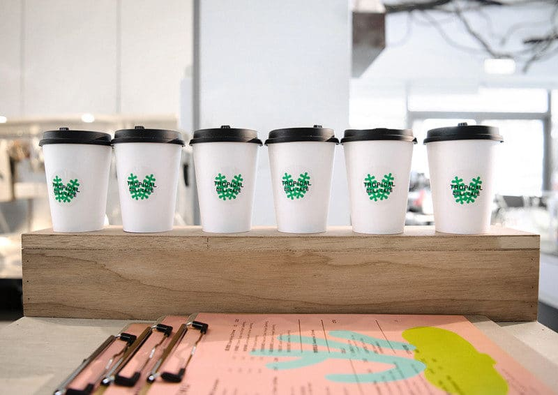カフェのカップデザイン