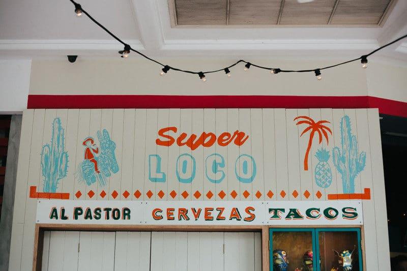 メキシカンストリートフードのレストランのロゴデザイン