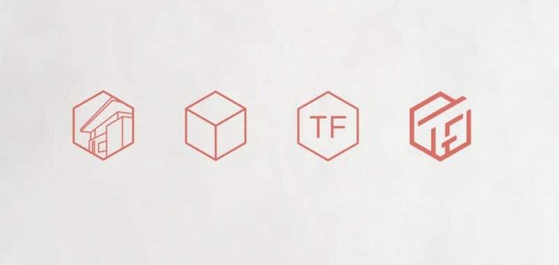 企業ロゴのプロセス