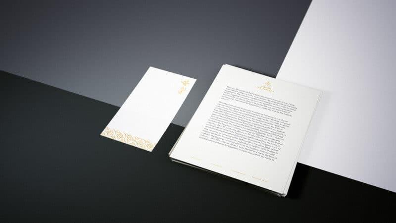 書類のデザイン