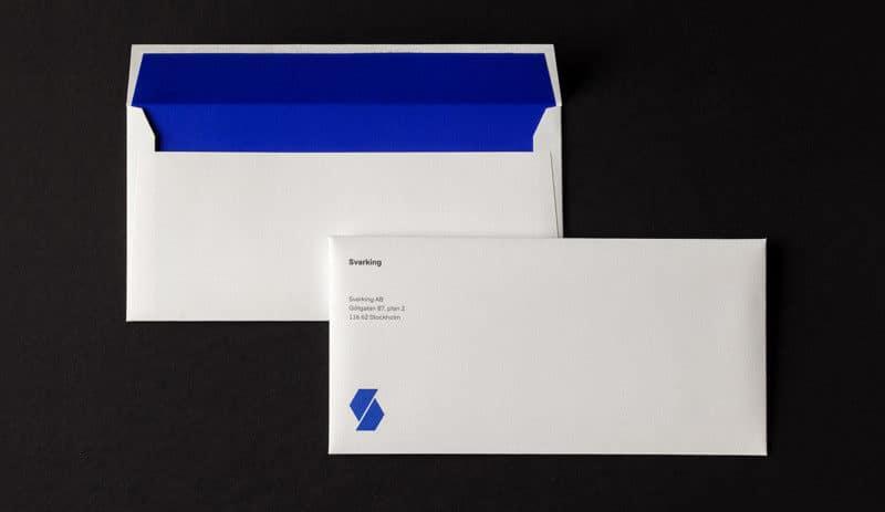 企業の封筒デザイン