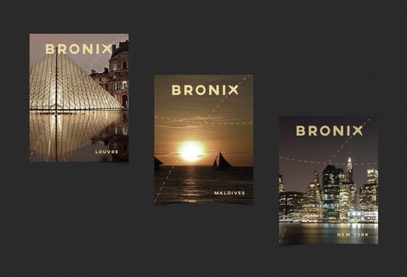旅行パンフレットの表紙デザイン