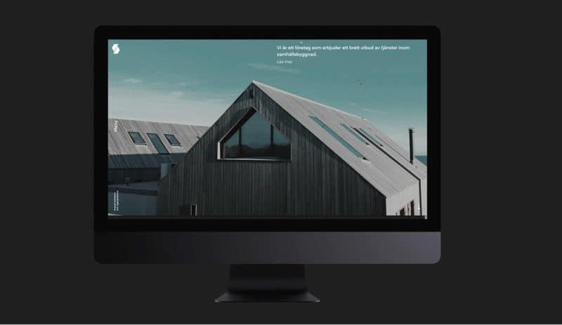 企業のWEBデザイン