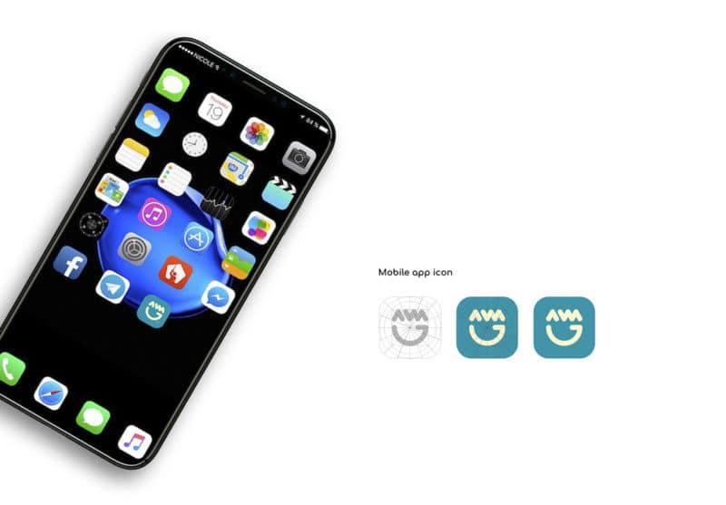 企業アプリのアイコンデザイン