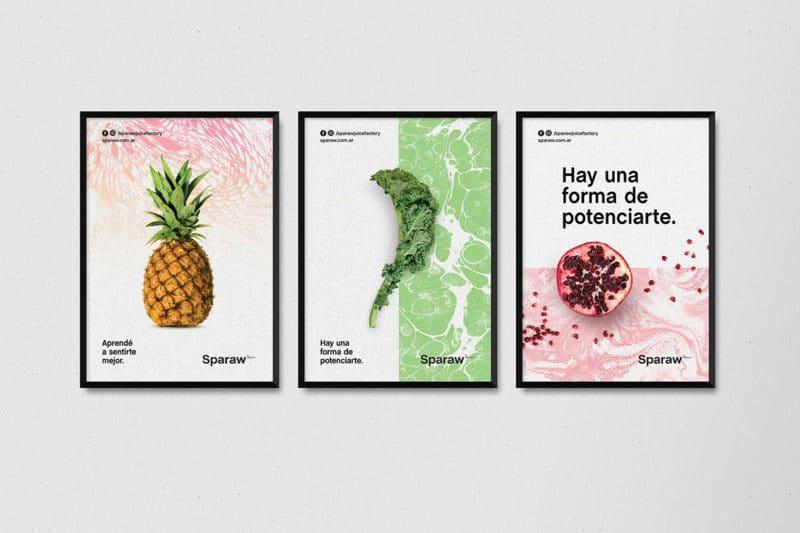お店のポスターデザイン