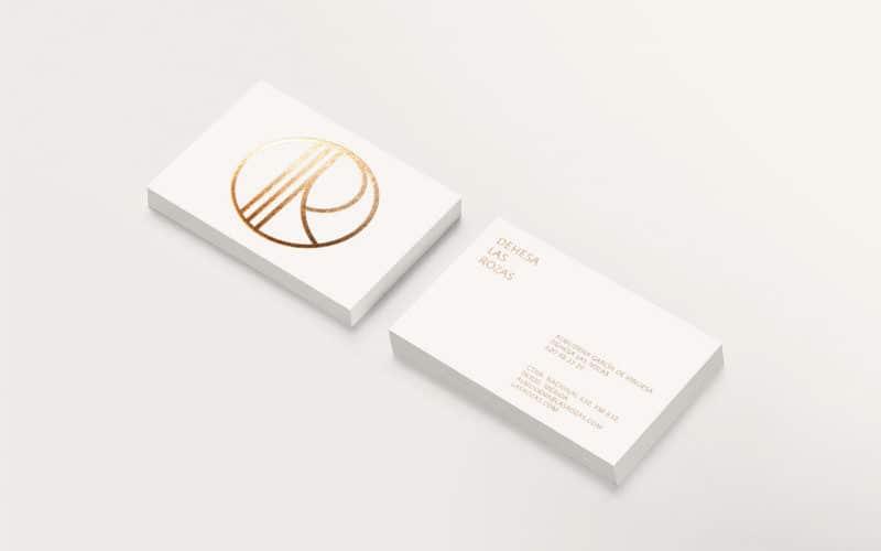名刺ショップカードのデザイン1