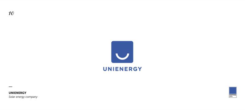 太陽光発電会社のロゴデザイン