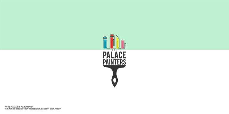塗装関連の企業ロゴデザイン
