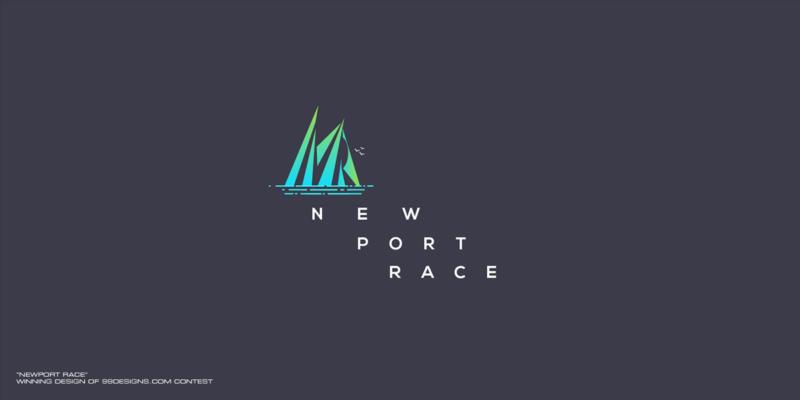 ヨットレースのロゴデザイン