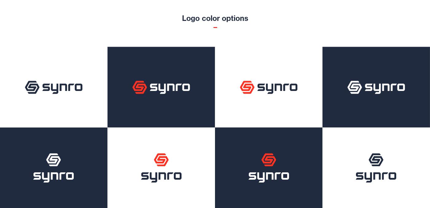 ロゴのカラーバリエーション
