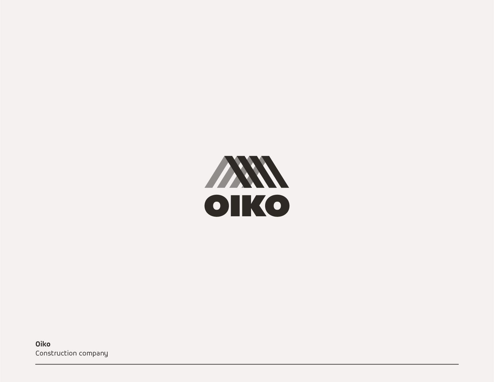 建築会社のロゴ提案3