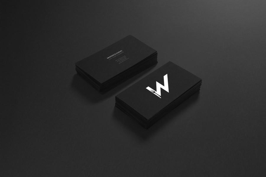 ラグジュアリーなフードサービスのロゴデザイン