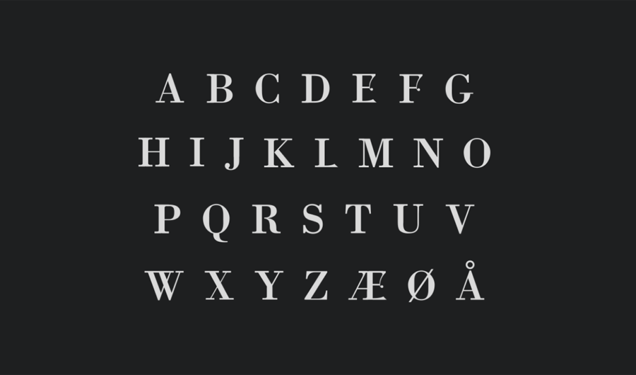 書体デザイン作成