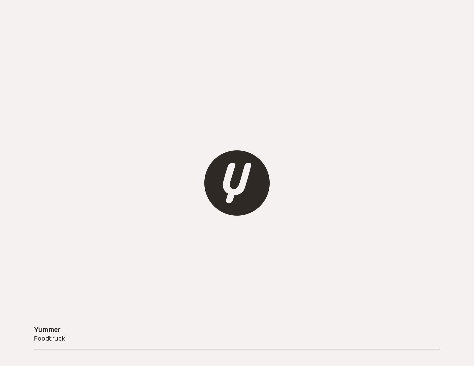 フードトラックのロゴ提案例