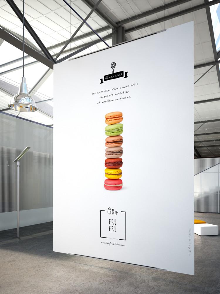 レストランのポスターデザイン2