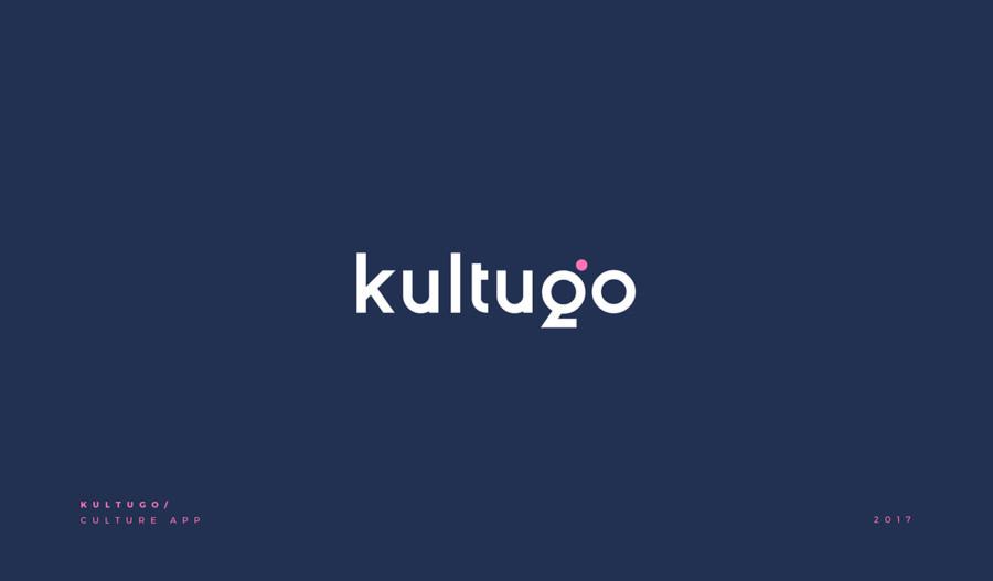 文化探索アプリのロゴデザイン