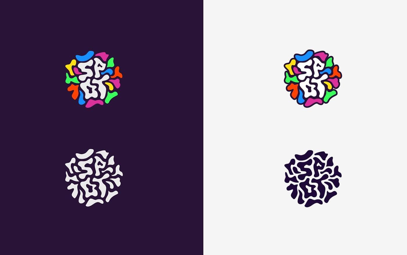 ビストロのカラフルなロゴ