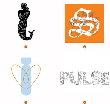 極細ラインのロゴデザイン