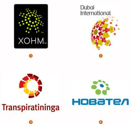 グローバル感のあるロゴデザイン