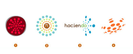 ハブ系のロゴデザイン