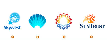 輝きを表現したロゴマーク