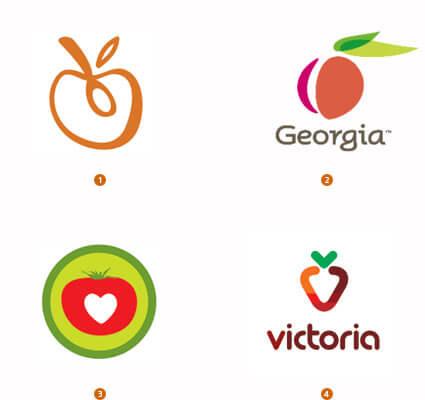 フルーツのロゴ