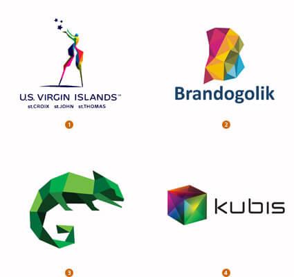 キュビズム的ロゴ