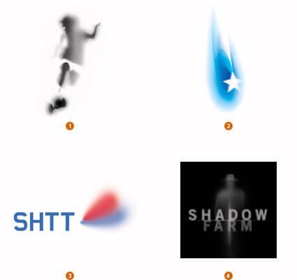 亡霊のようなロゴ