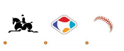 暗示がテーマのロゴ達