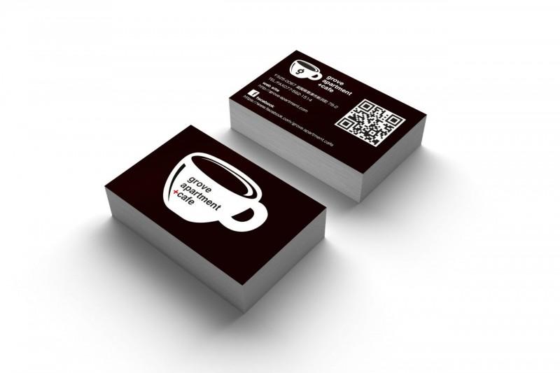 cafe_ショップカードデザイン