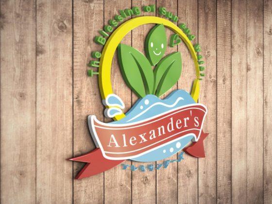 野菜ブランドのロゴデザイン