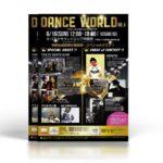 黒と金。鉄板のゴージャス感でまとめたダンスコンテストのチラシデザインを制作しました。