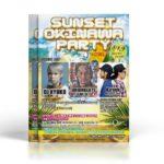 沖縄をテーマにした、夏まっただ中のイベントチラシデザインを制作しました。