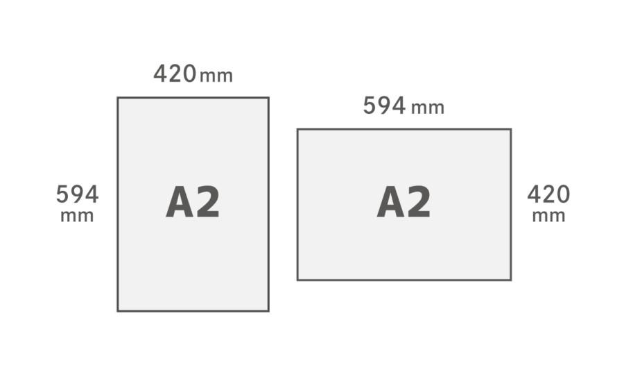 A2用紙サイズ
