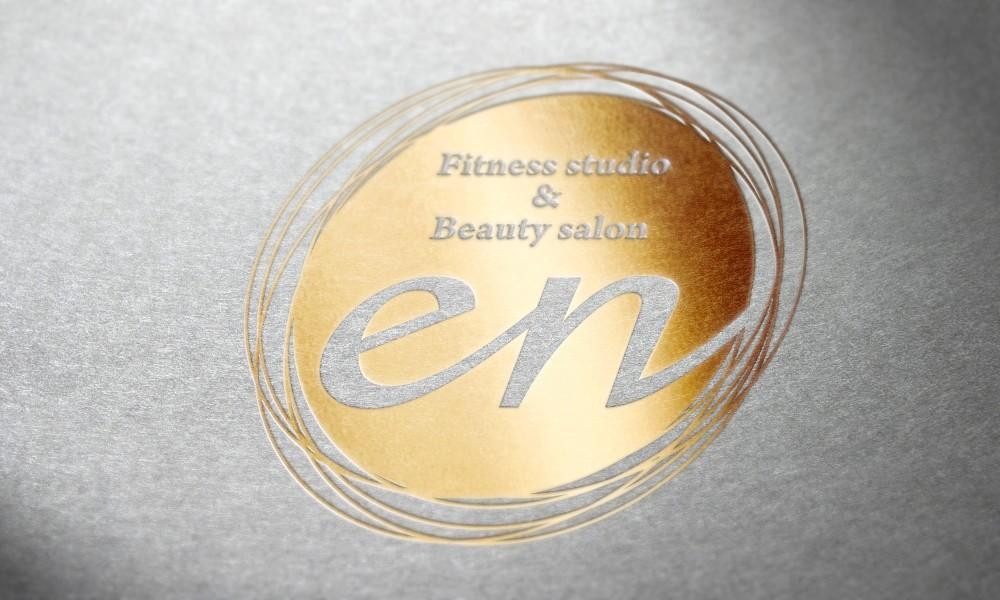フィットネス×美容サロンのロゴ2