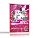 元気いっぱいのキッズチアダンスショーのポスターデザインを制作しました。
