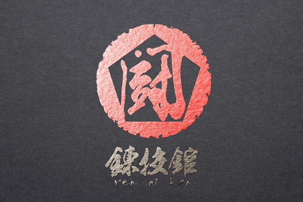 格闘技道場のロゴ