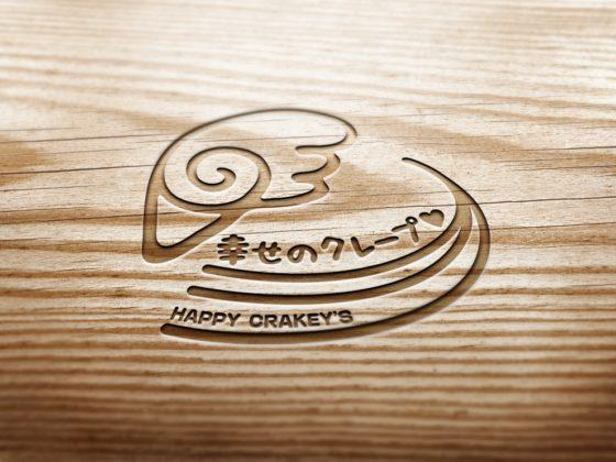 クレープ専門店のロゴ