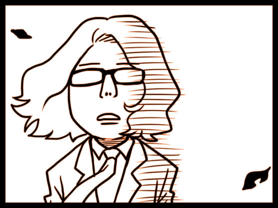 デザイナー漫画〜さよなら〜