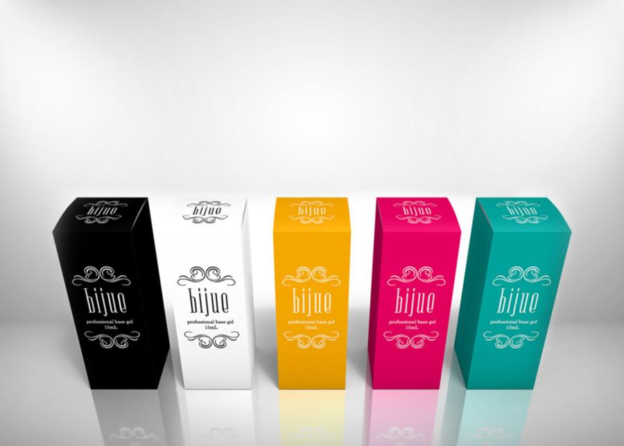 ジェルネイルパッケージのデザイン作成例