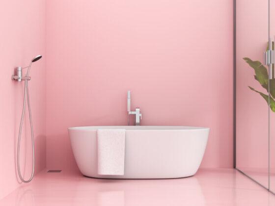 ピンク色のデザインの心理効果