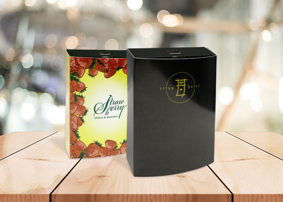 贈答用のイチゴパッケージデザイン3