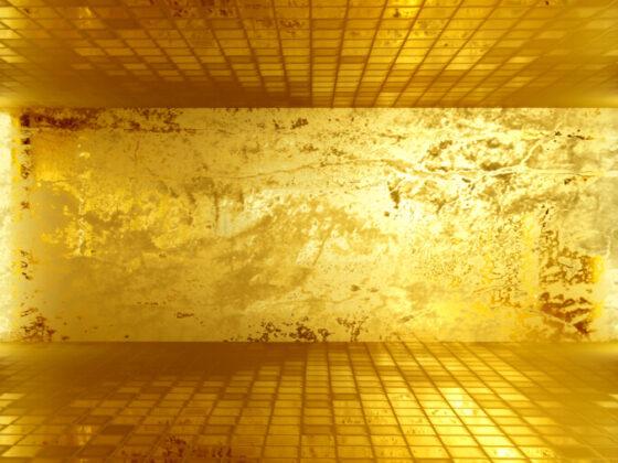 金色のデザインの心理効果