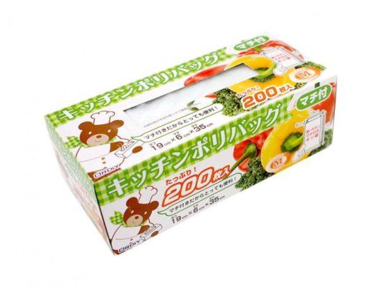 キッチン用ポリ袋のパッケージデザイン2