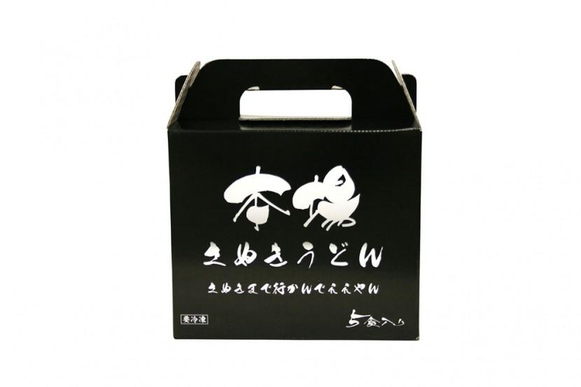 讃岐うどんのパッケージデザイン