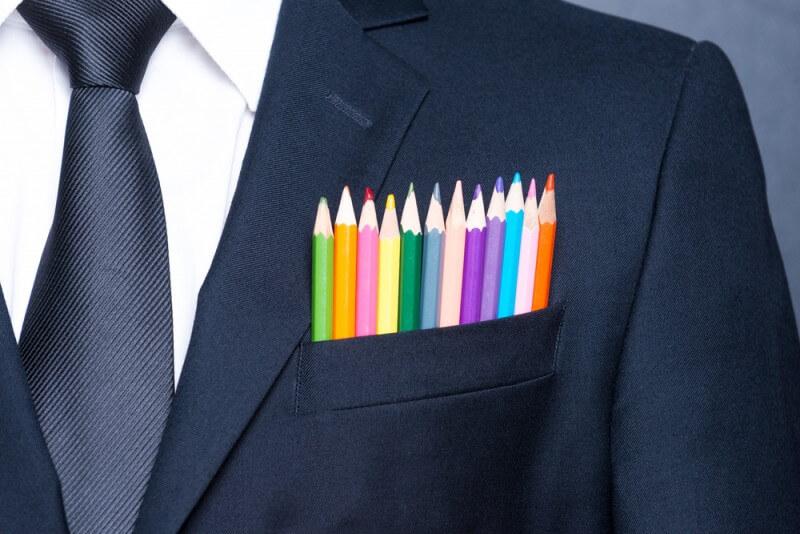 ロゴの色は重要な要素